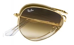 Sluneční brýle Ray Ban Aviator skládací RB 3479 001/51