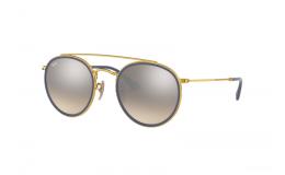 Sluneční brýle Ray Ban ROUND DOUBLE BRIDGE RB 3647N 001/9U