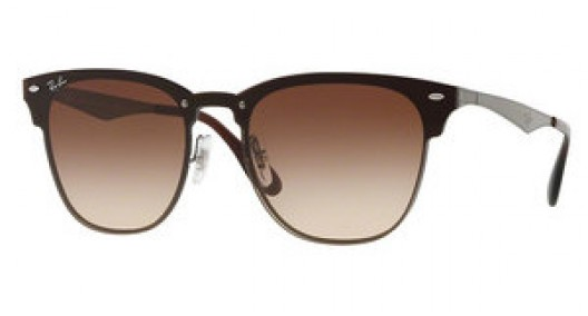 Sluneční brýle Ray Ban CLUBMASTER BLAZE RB 3576N 041/13
