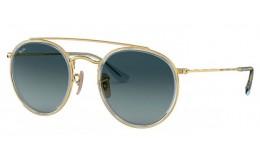 Sluneční brýle Ray Ban ROUND DOUBLE BRIDGE RB 3647N 91233M