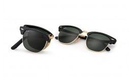 Sluneční brýle Ray Ban Clubmaster skládací RB 2176 901