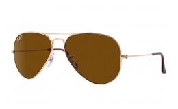 Polarizační sluneční brýle Ray Ban Aviator RB 3025 001/57 vel.62