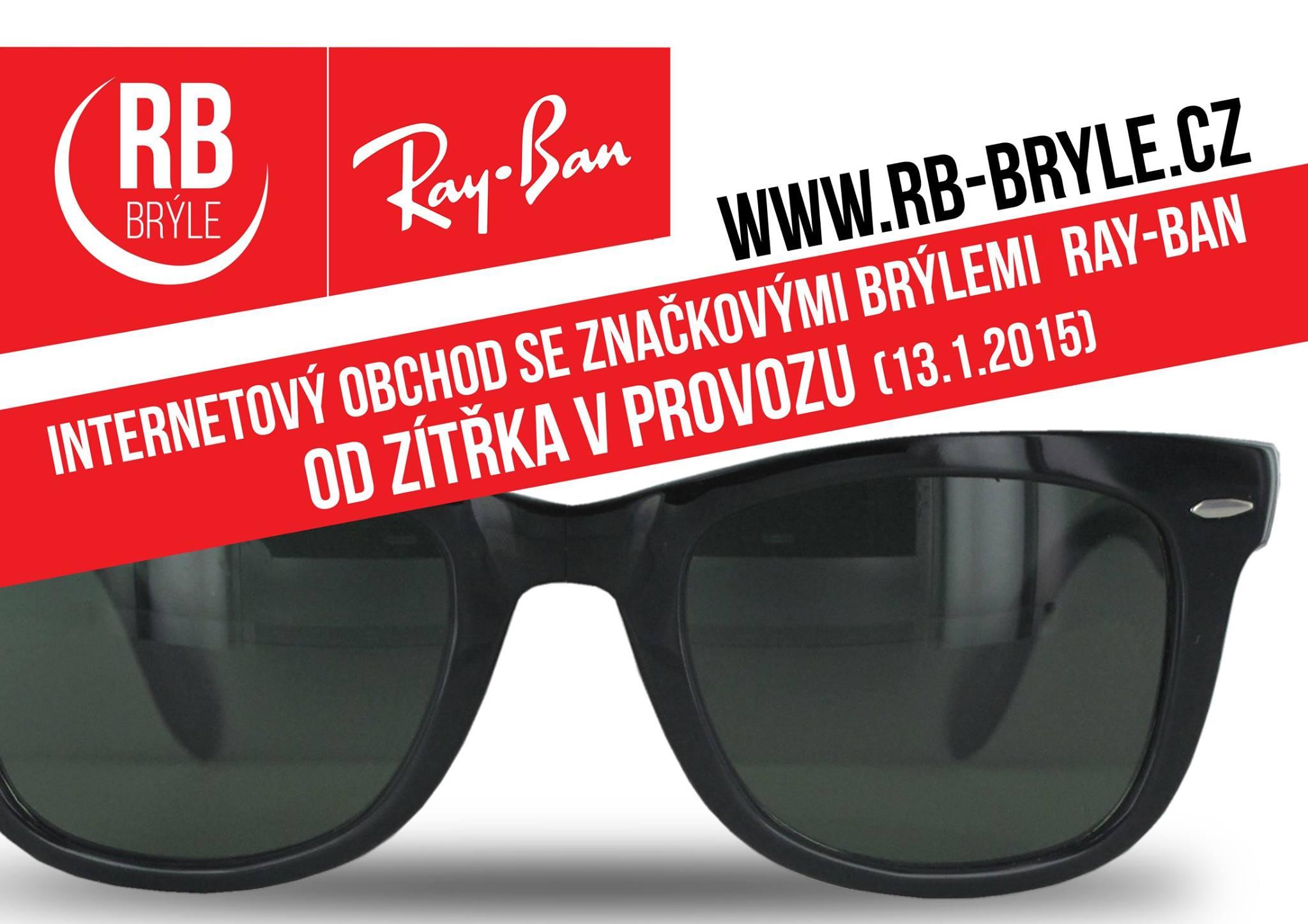 Zítra nově otevřený internetový obchod rb-bryle.cz